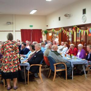Harvest Supper Right on time 20153