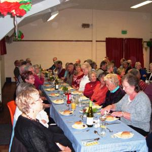 Harvest Supper Worlingworth 20152