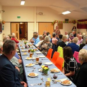 Harvest Supper Worlingworth 20155