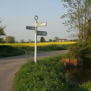 worlingworth signpost